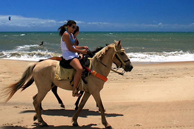 Cavalgando Cumbuco