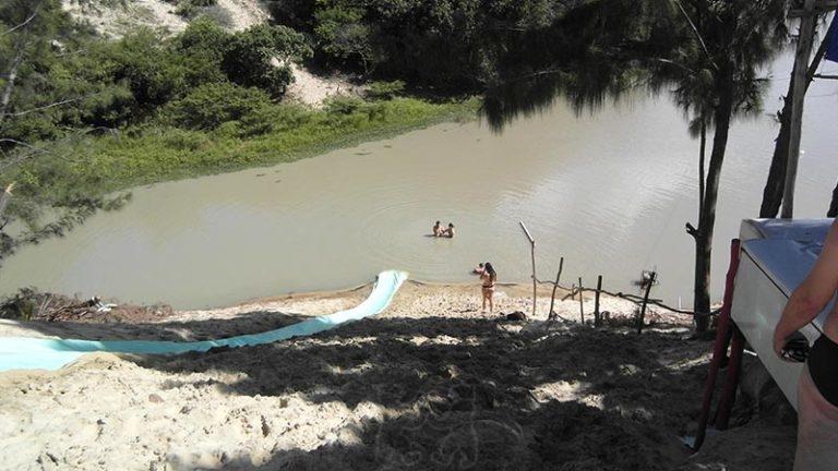Waterslide Lagoa Banana